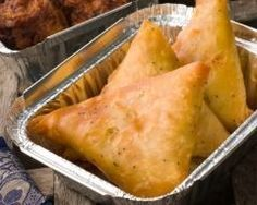 Samoussas au poulet et au curry (facile, rapide) - Une recette CuisineAZ
