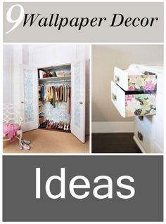 9 Wallpaper Decor Ideas