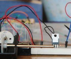 Arduino DC motor speed control potentiometer
