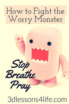 Don't be a Worry Wart when God has called you to be a Prayer Warrior. -- #PrayBig