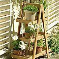Pas à pas pour fabriquer une étagère style escabeau en bois de palette - Le blog de Béa