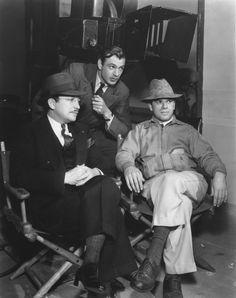 Gary Cooper & director Frank Capra