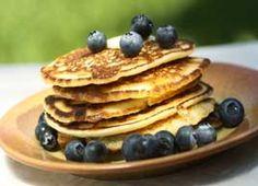 Crêpes aux bleuets et au yogourt | Recettes | Mon assiette | Plaisirs Santé