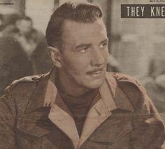 1946, Colour Photo, Michael Redgrave, British Film Star,