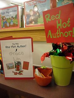 red hot authors