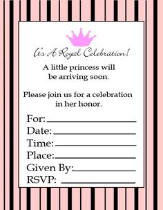 Awesome FREE Template Cheap Baby Shower Invitations for Girl