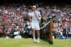 Game, set and match Murray 6-3 6-3 6-3 Andy Murray makes the Wimbledon final for a third time! The semi-final finishes with Berdych hitting into the net.