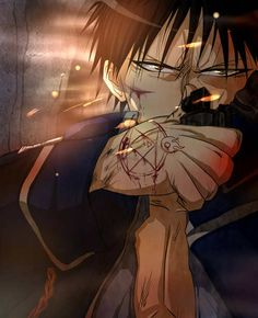 Roy Mustang in his most badass moment! Full Metal Alchemist