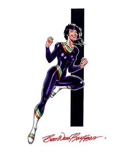 Rainbow Girl - Legion of Substitute Heroes by Ron Frenz
