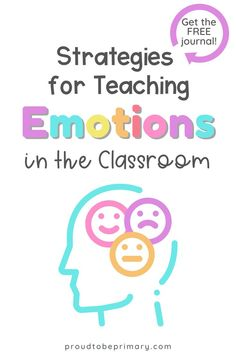 Teach children about their emotions with activities to identify, express, and manage their feelings appropriately in the classroom and at school. This is a powerful step towards self-regulation, self-control, and a positive mindset. Use it as part of your social emotional learning lesson plans or classroom management plan.