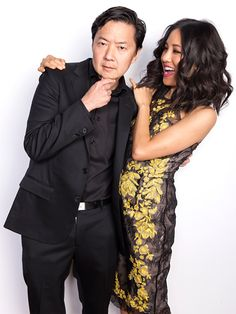 Ken Jeong and Constance Wu from #Community and #FreshOffTheBoat