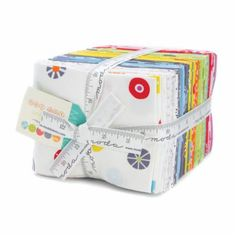"""New never opened! FAT QUARTERS! Only have one left! Cotton quilting fabric from Moda Fabrics. """"Hey Dot"""" by designer Zen Chic. Prices will be almost 30% off of the standard market value. Get yours now before its all gone. All fabric is 100% cotton and genuine Moda Fabrics. My shop is new on Etsy.com. I am committed to shipping your order FAST!!! You will receive genuine, high quality Moda fabric, at a very low price. These prices will only be around for a limited time. Please take advantage…"""