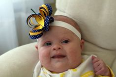 Down Syndrome Awareness Ribbon Butterfly Hair by LivvyLousBoutique, $7.00