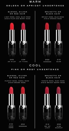 How to Choose the Right Shade of Red Lipstick courtesy of @marcjacobs