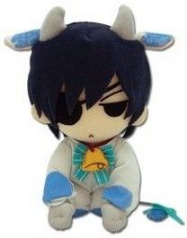 Black Butler - Ciel Phantomhive Cow Cosplay Plush Toy