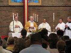 St. Barnabas' Church in Florissant celebrates their renewed ministry with Rector Renee Fenner.