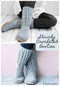 I love these so much! They look so cozy and I love the color!! #crochet #pattern #affiliate