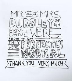 Harry Potters Handwriting