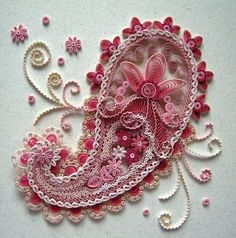Quilling (all with paper):