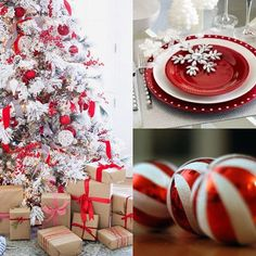 White and red inspiration🎅🏼❤️🎅🏼❤️#christmas #christmasdecor #redandwhite #christmastree #christmastable #christmasiscoming #christmasgift #tagforlikes #FF #F4F #christmastree