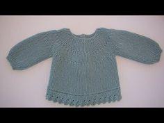 puntomoderno | JERSEY BEBÉ IAGO Crochet Backpack, Crochet Jacket, Baby Knitting Patterns, Bebe Video, Crochet Baby, Knit Crochet, Diy Crafts Knitting, Newborn Fashion, Knit Baby Sweaters