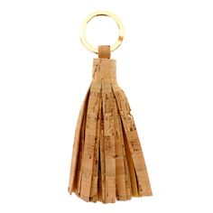 Dress up your keys! Our Cork Tassel Key Rings will keep your keys secure in style.