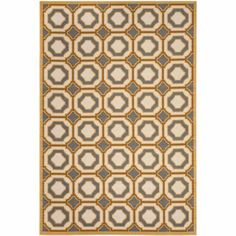 Safavieh Hampton Power Loomed Area Rug, Beige