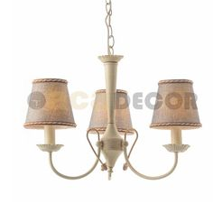 Aca Vintage Μεταλλικό Πολύφωτο 3Φ Keep The Lights On, Chandelier, Ceiling Lights, Lighting, Vintage, Home Decor, Candelabra, Decoration Home, Room Decor