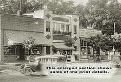 Cedar Lake, Indiana, Street Scene c1927