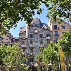Casa Batlló - Passeig de Gràcia, Barcelona