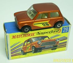 un superfast Matchbox Art, Metal Toys, Kids Tv, Hot Wheels Cars, Diecast Model Cars, Classic Mini, Old Toys, Vintage Toys, Childhood Memories