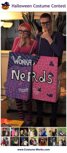 Homemade Costumes for Couples - this website has tons of DIY costume ideas! via @costume_works