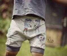 Kinderkleidung nähen kurze Hose / Shorts | Anleitung und Schnittmuster | eBook Räubershorts von Mamilu-Design
