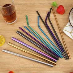 Silicon Tips Cover Food Grade Cover for Stainless Steel Straws Cover Teeth Protector Bar Accessories Party Supplies Pantry Organisation, Kitchenware, Tableware, Metal Straws, Stainless Steel Straws, Bar Accessories, Food Grade, Party Supplies, Vsco