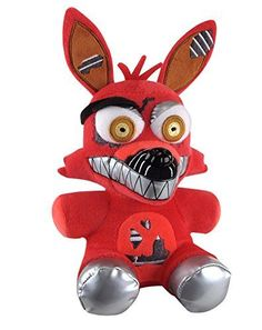 Funko Five Nights at Freddys Nightmare Foxy Plush 6 -- Learn more by visiting the image link. (Note:Amazon affiliate link)