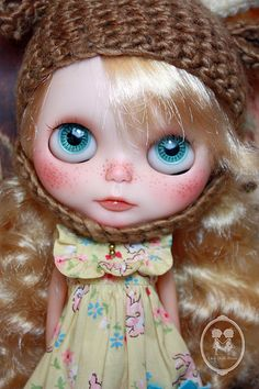 OOAK Blythe Doll For Adoption. | Flickr - Photo Sharing!
