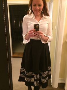 Office look. Office outfit. New favourite skirt!!
