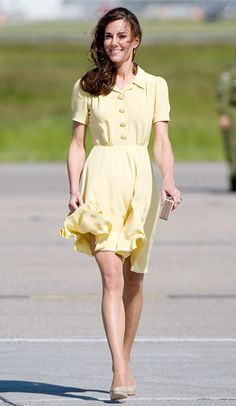 Always admirable and lovely, if not edgy, style from Kate