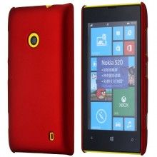 Carcaça Lumia 520 - UltraSlim Vermelha  R$18,25