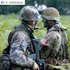 #Repost @britisharmy with @repostapp  UK and French soldiers are gearing up for Exercise Griffin Strike 2016 next month. The training prepares both forces for high-readiness operations #griffinstrike #teamwork
