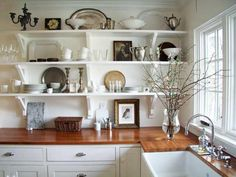 Image result for l shaped farmhouse kitchen