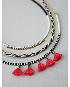 beautiful polder necklace