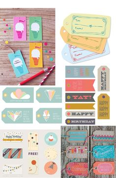 FREE BIRTHDAY PRINTABLE TAGS