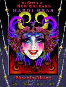 Andrea Mistretta Mardi Gras Poster 2006