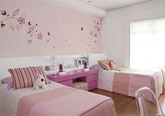 Dicas de decoração e organização para quem divide o quarto - Casinha Arrumada