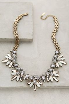 BaubleBar x Anthropologie Lavande Bib Necklace