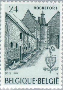 Stamp: Abbeys (Belgium) (Abbeys) Mi:BE 2200,Sn:BE 1180,Yt:BE 2148,Bel:BE 2148