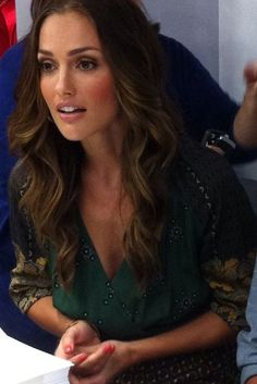minka kelly. i love her makeup. want a blush this shade