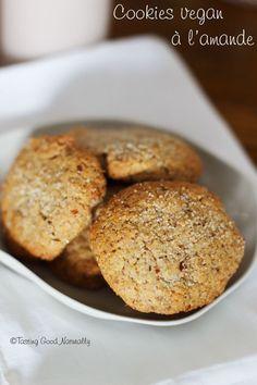 Tasting Good Naturally : Des petits Cookies #vegan à l'amande pour le goûter, cela vous dit ?