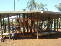 Neal McCrossan Park at Paddington Great Places, Places To Go, Brisbane Kids, Habitats, Playground, Parks, Centre, Chill, Pergola